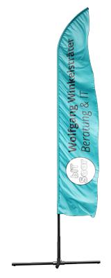 Beachflagge bIT-Saar