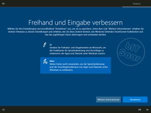 Windows 10 - Grundeinstellung Freihand und Eingabe verbessern