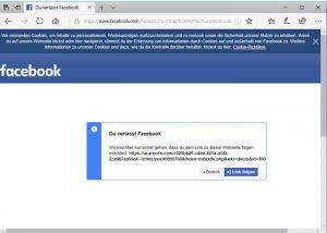 Video- oder Bildnachrichte über den Facebook-Messenger