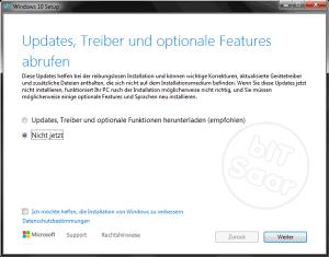 Umstellung auf Windows 10 - Updates Ja/Nein