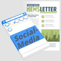 Newsletter & Social-Media
