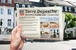 klassische Werbung von bIT-Saar